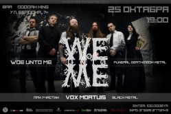 "Interview with Woe Unto Me: ""We just needed to express things we couldn't express the other ways""."
