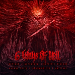 Barzakh, Goresluts, Horrific Disease, Savage Deity, Shadowmirth, Suicidal - 6 Ways Of Hell (Split)