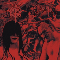 Cult Of The Horns / Goatvermin - Cult Of The Horns / Goatvermin (Split)